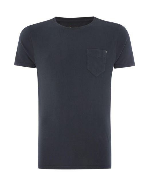 Label Lab | Black Jubilee Pocket T With Studd for Men | Lyst