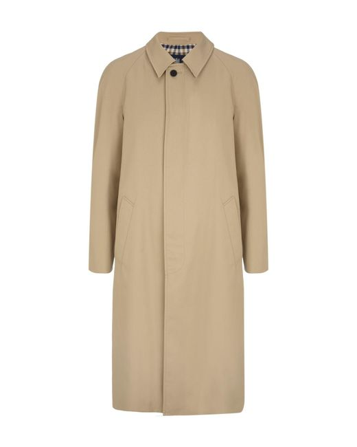Aquascutum | Natural Filey Single Breasted Raincoat for Men | Lyst