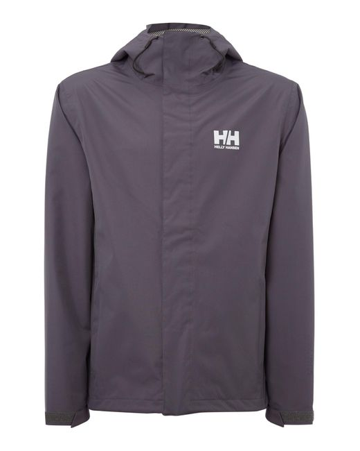 Helly Hansen | Gray Seven J Waterproof Mac for Men | Lyst
