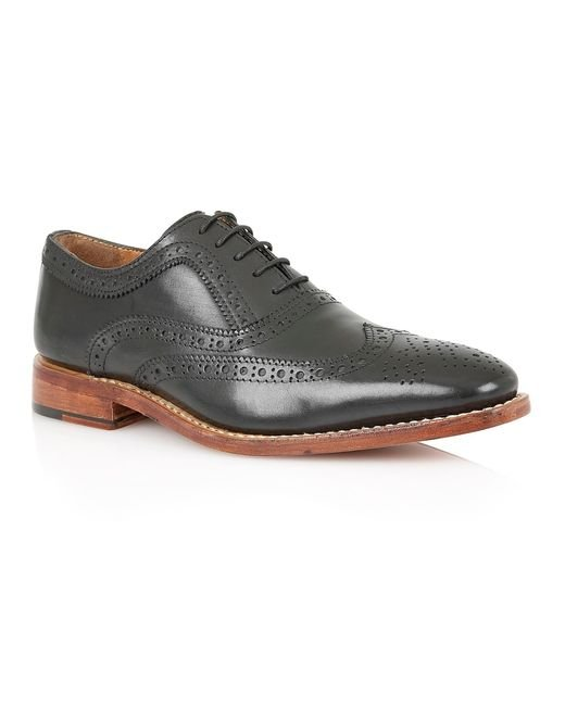 Lotus | Black Kade Lace Up Casual Brogues for Men | Lyst