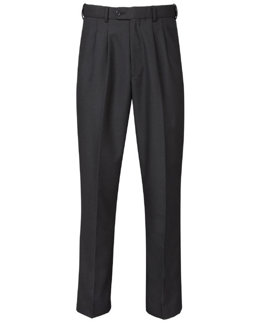 Skopes | Black Waterford Loose Fit Tailored Trousers for Men | Lyst