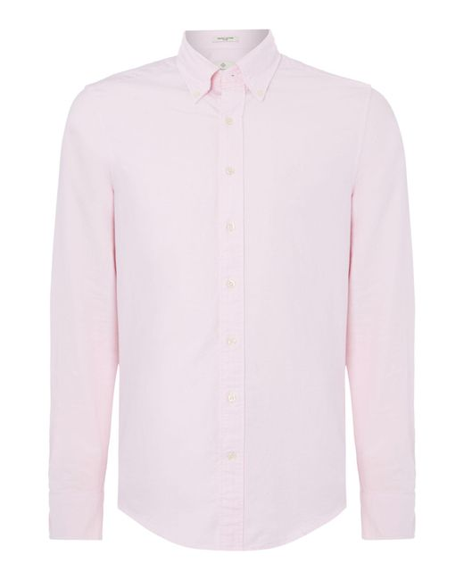Gant | Pink Diamond G Fully Fitted Perfect Oxford Shirt for Men | Lyst