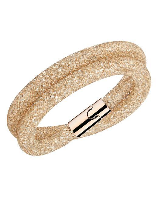 Swarovski   Metallic Stardust Deluxe Bracelet   Lyst