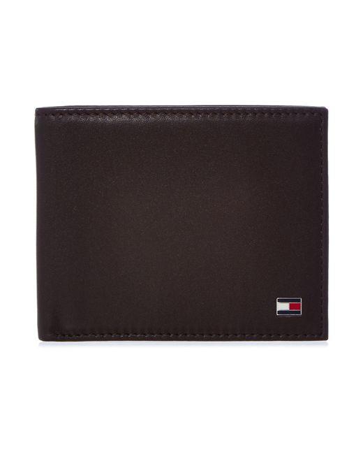 Tommy Hilfiger | Brown Eton Bifold Wallet for Men | Lyst