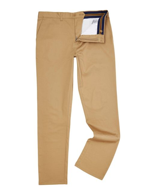 Lyle & Scott | Natural Golf Cotton Stretch Chino for Men | Lyst