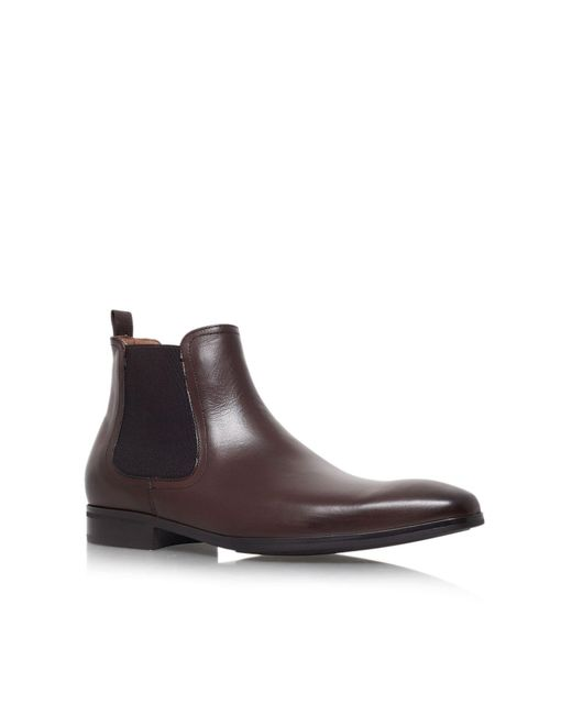 Kurt Geiger | Brown Gerald Leather Boots Chelsea for Men | Lyst