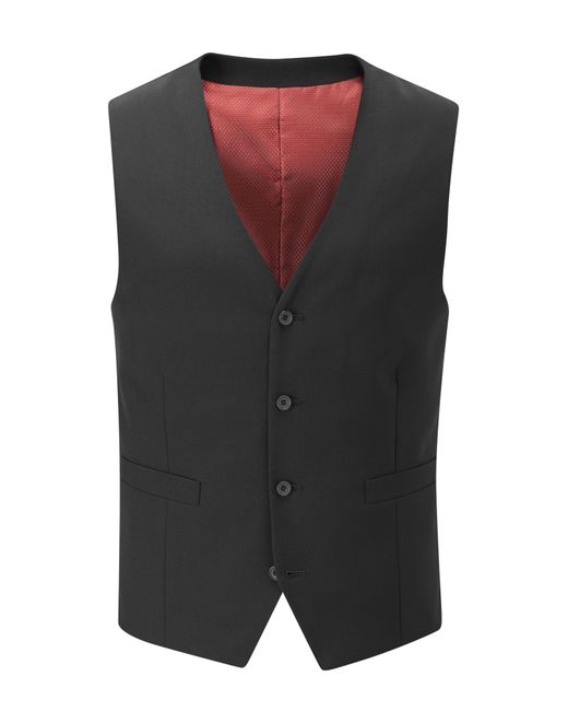 Skopes | Black Darwin Wool-blend Suit Waistcoat for Men | Lyst