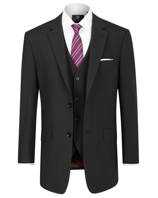 Skopes | Black Darwin Wool-blend Suit Jacket for Men | Lyst