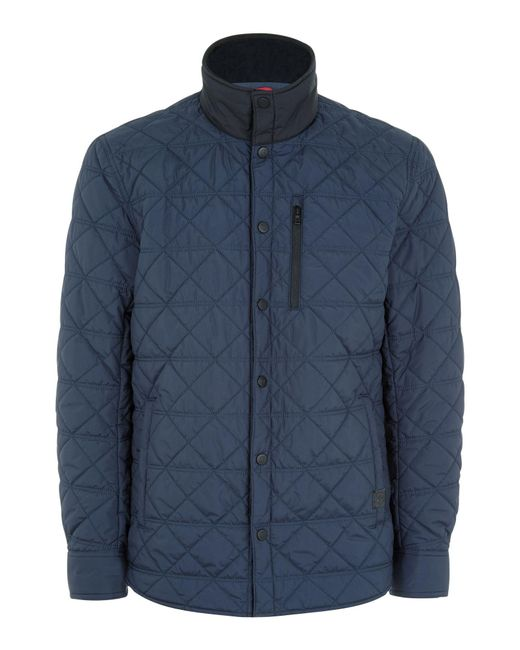 Victorinox | Blue Bernhold Quilted Jacket for Men | Lyst