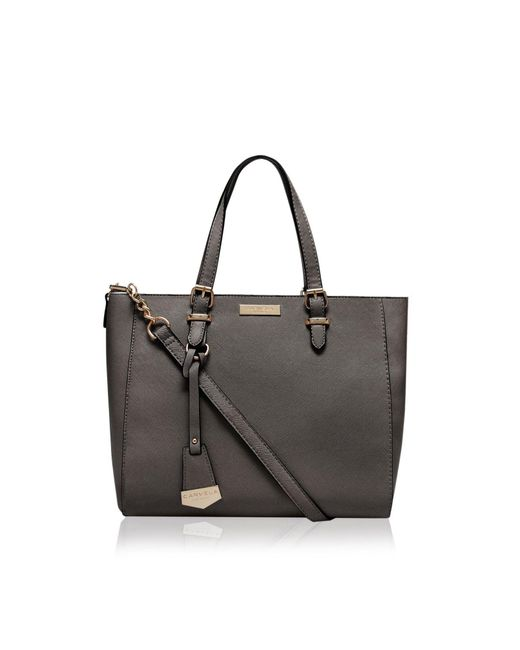 Carvela Kurt Geiger | Gray Dina Winged Tote Bag | Lyst