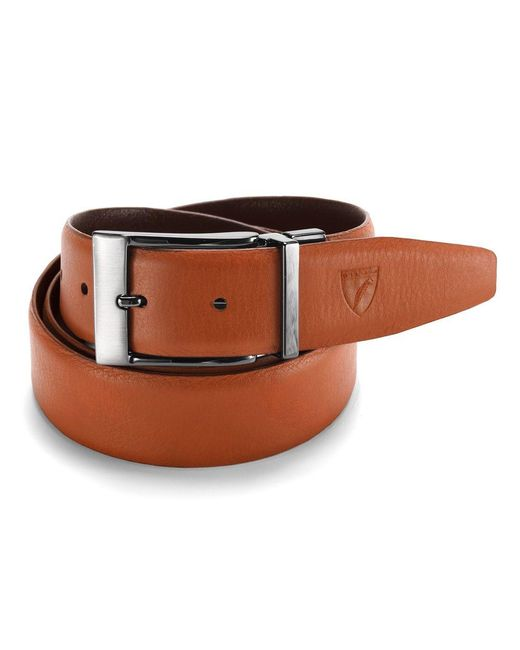 Aspinal | Brown Mens Reversible Belt for Men | Lyst