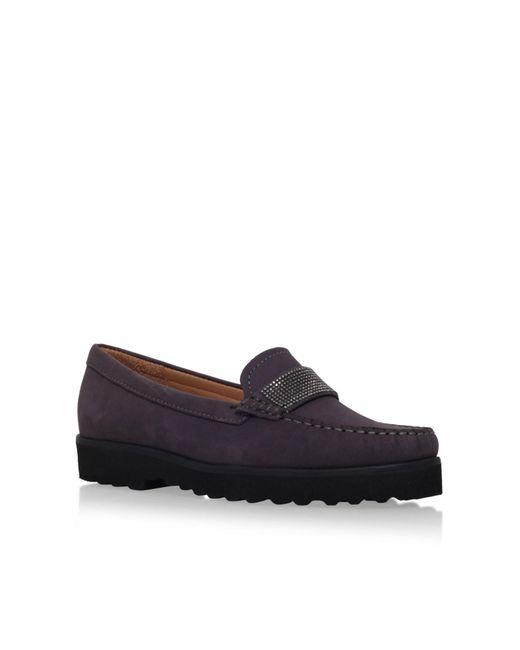 Carvela Kurt Geiger | Gray Charlie Flat Loafers Shoes | Lyst