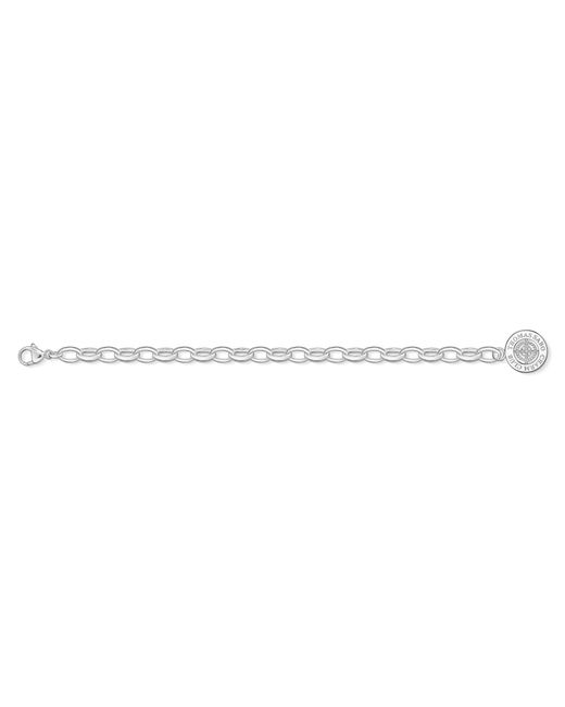 Thomas Sabo   Metallic Charm Club Diamond Charm Bracelet   Lyst