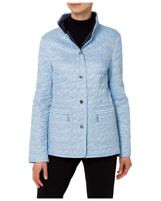 Basler Quilted Jacket in Blue | Lyst