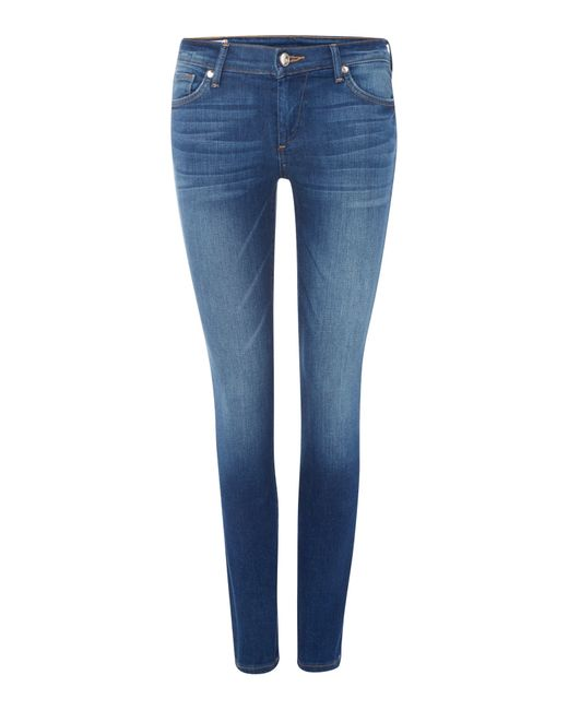 True Religion | Blue Joey Flare Jeans | Lyst