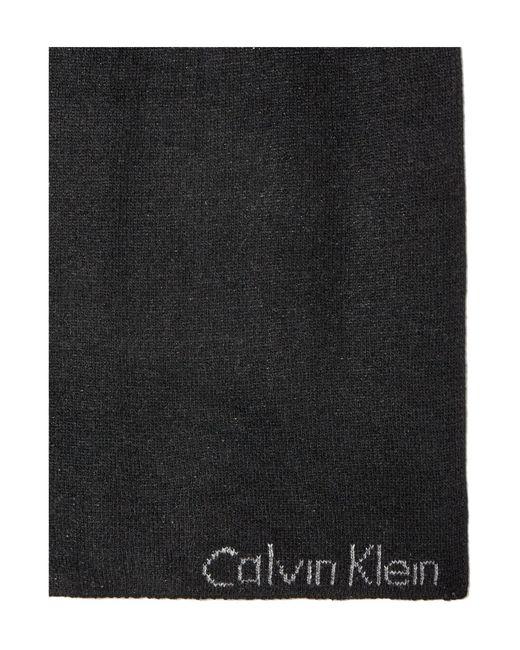 Calvin Klein | Black Alexa Scarf | Lyst