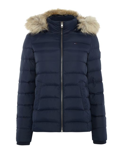 Tommy Hilfiger | Blue Thdw Basic Down Jacket | Lyst