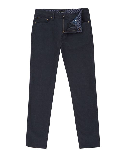 Ted Baker | Blue Seton Five Pocket Trousers for Men | Lyst