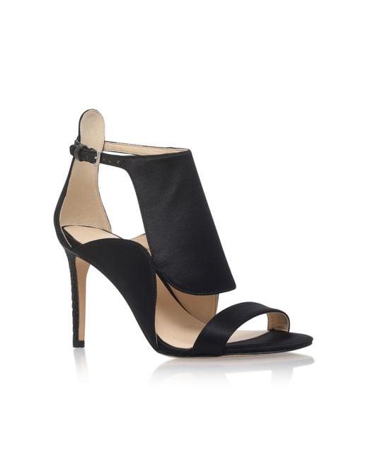 Nine West | Black Denita2 High Heel Sandals | Lyst