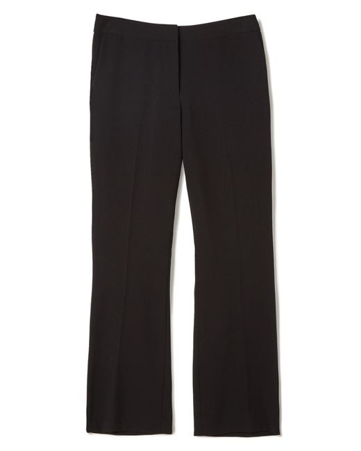 Precis Petite | Black Jeff Banks Bootcut Trousers | Lyst