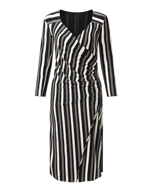 James Lakeland   Gray Rose Print Dress   Lyst