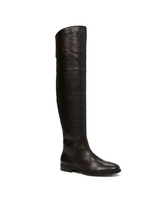 aldo fudge knee high boots in black lyst