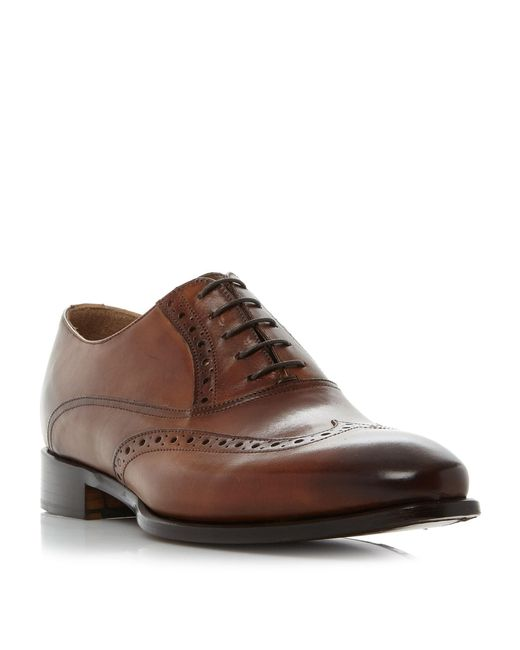 Kenneth Cole | Brown Coat Armour Wingtip Oxford Brogue for Men | Lyst