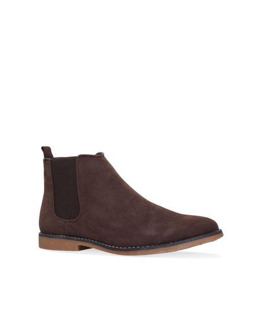 KG by Kurt Geiger | Brown Wayne Chelsea Boots for Men | Lyst