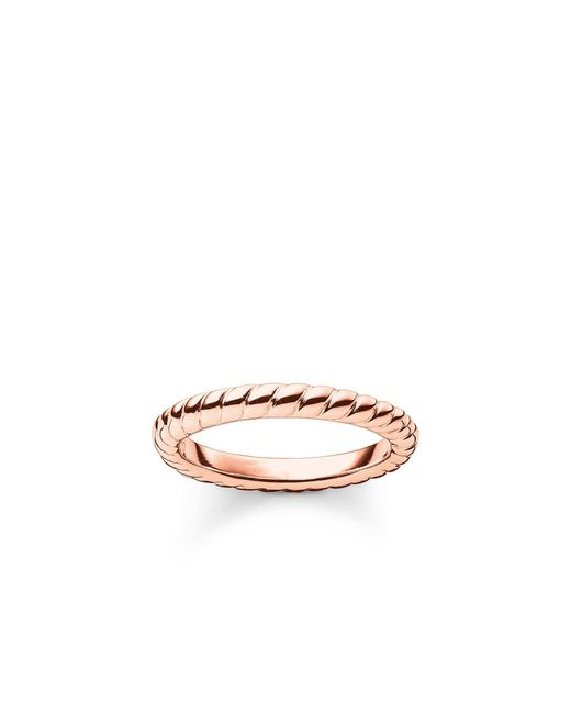 Thomas Sabo | Metallic My Rings Roped Ring | Lyst