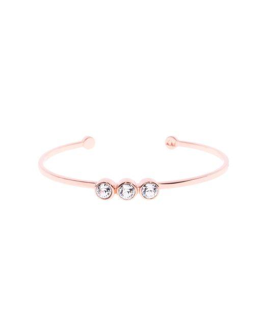 Karen Millen - Metallic Swarovski Crystal Dot Cuff - Lyst