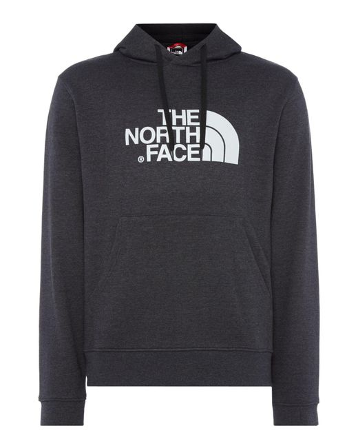 The North Face | Gray Men's Overhead Large Logo Hoodie for Men | Lyst