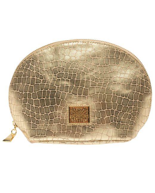 Biba Metallic Cosmetic Bag