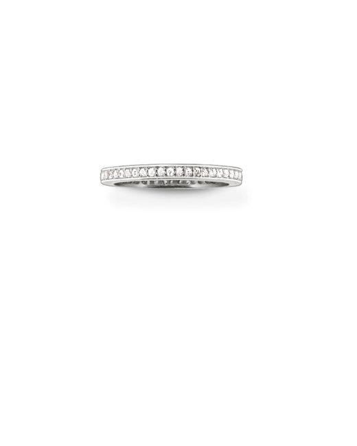 Thomas Sabo - Metallic My Rings Channel Set Ring - Lyst