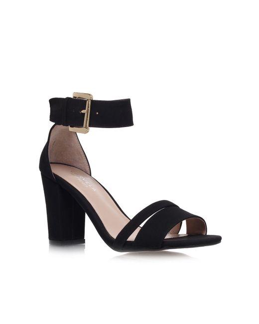 Carvela Kurt Geiger | Black Carly High Heel Sandals | Lyst
