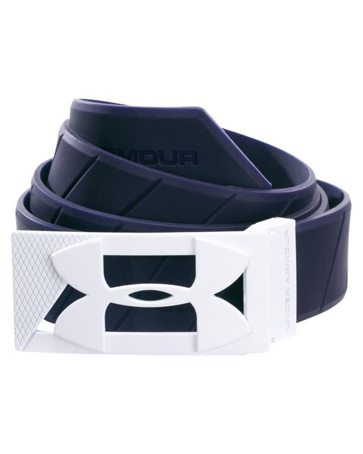Under Armour - Blue Silicone Belt for Men - Lyst