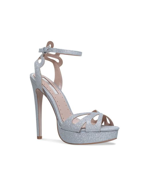 Miss Kg | Metallic Fabienne Sandals | Lyst