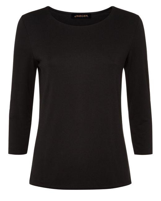 Jaeger   Black Essential Jersey Top   Lyst
