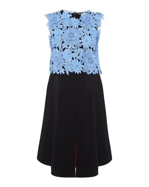 Sportmax Code | Black Fida Sleeveless Embroidered Floral Top | Lyst