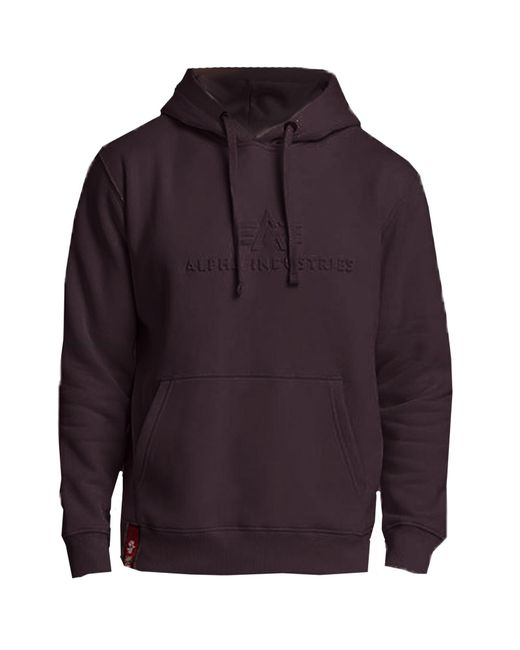 Alpha Industries - Purple Men's 3d Hoddy for Men - Lyst