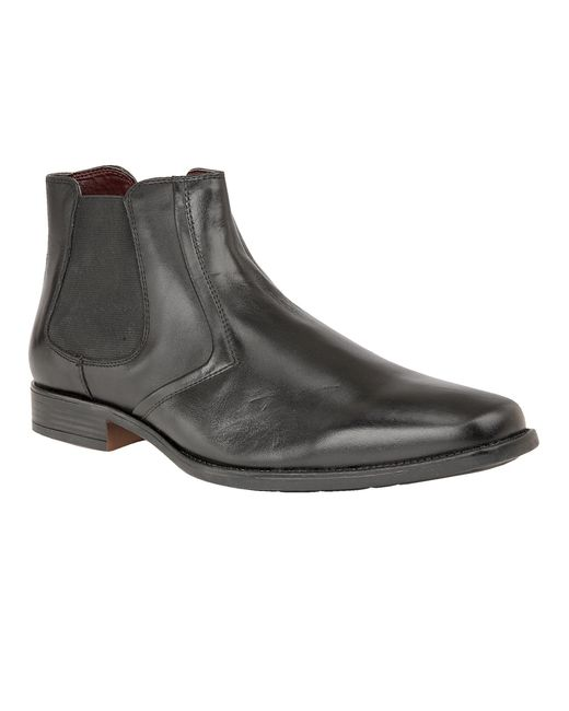 Lotus | Black Stedman Smart Chelsea Boots for Men | Lyst