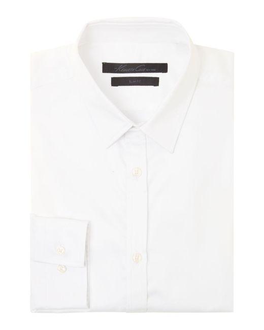 Kenneth Cole - White Flight Travel Shirt for Men - Lyst