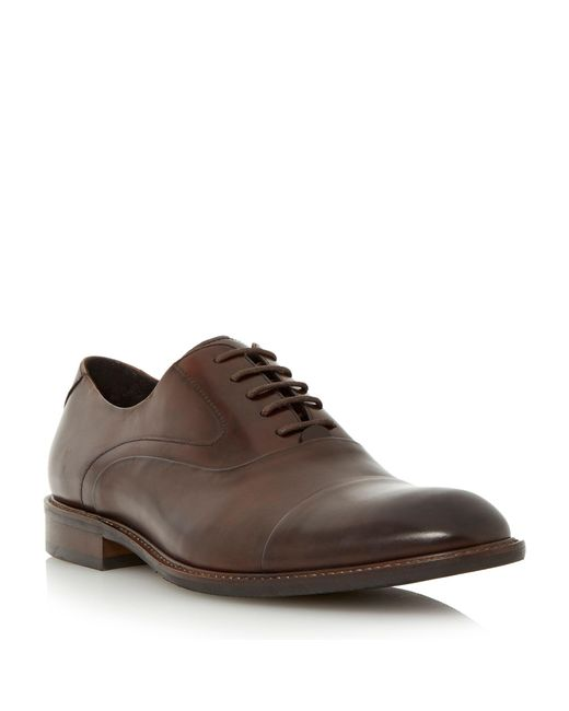 Bertie - Brown Radius Lace Up Formal Oxford Shoes for Men - Lyst