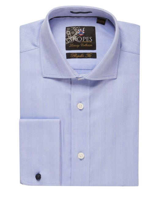 Skopes | Blue Luxury Collection Formal Shirt for Men | Lyst