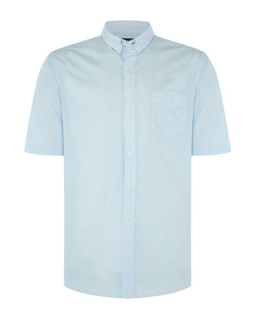 Chester Barrie | Blue Rushmore Sonora Short Sleeve Shirt for Men | Lyst