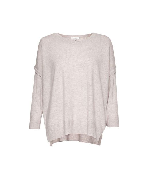 Great Plains | Purple Rania Cashmere And Wool Blend Jumper | Lyst