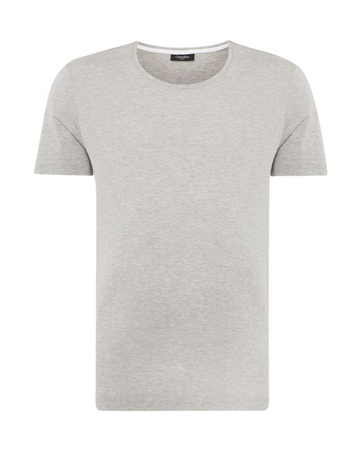 Calvin Klein | Gray Jato Jersey T-shirt for Men | Lyst