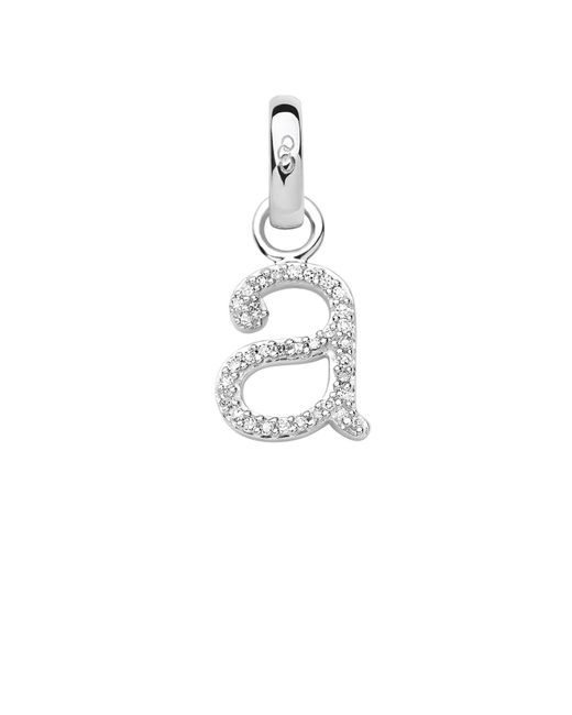 Links of London | Metallic Sterling Silver & Diamond A Alphabet Charm | Lyst
