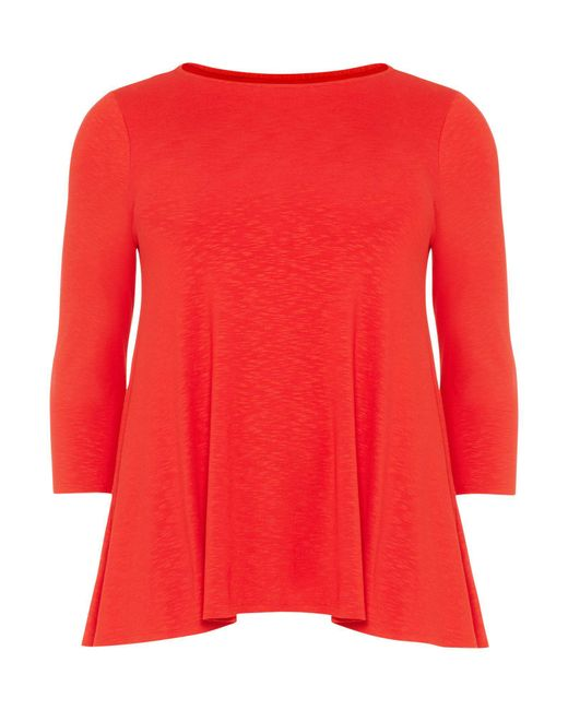 Studio 8 - Red Molly Slub Top - Lyst