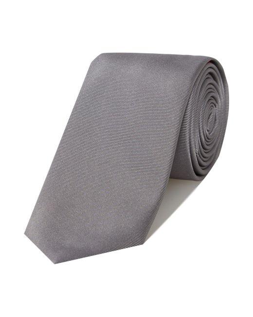 HUGO   Metallic Plain Tie for Men   Lyst