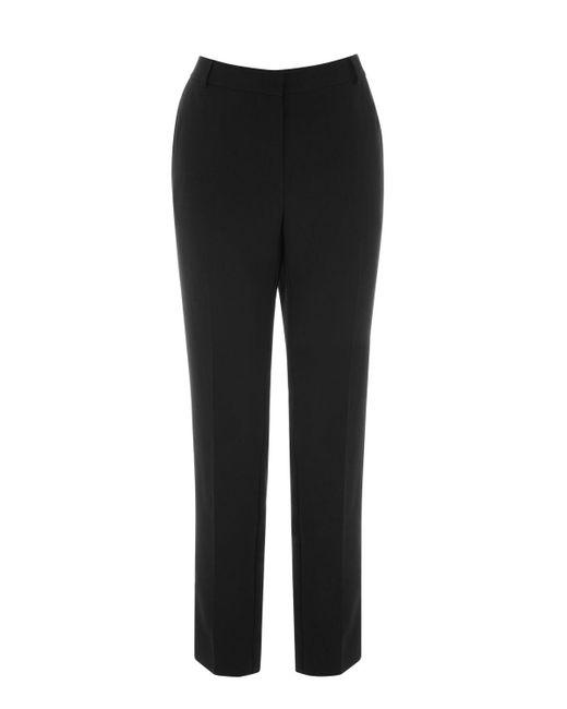 Warehouse | Black Slim Leg Trousers | Lyst